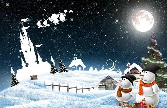 """圣诞节英文歌曲推荐Christmas in my heart"""""""
