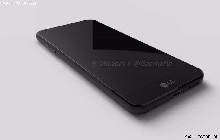 """LG G6渲染图曝光 圆润设计颠覆传统"""""""