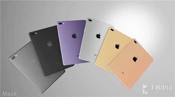 """二代iPad Pro概念图 双摄105英寸大屏"""""""