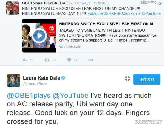 """育碧的新《刺客信条》或许也要登陆Switch平台"""""""