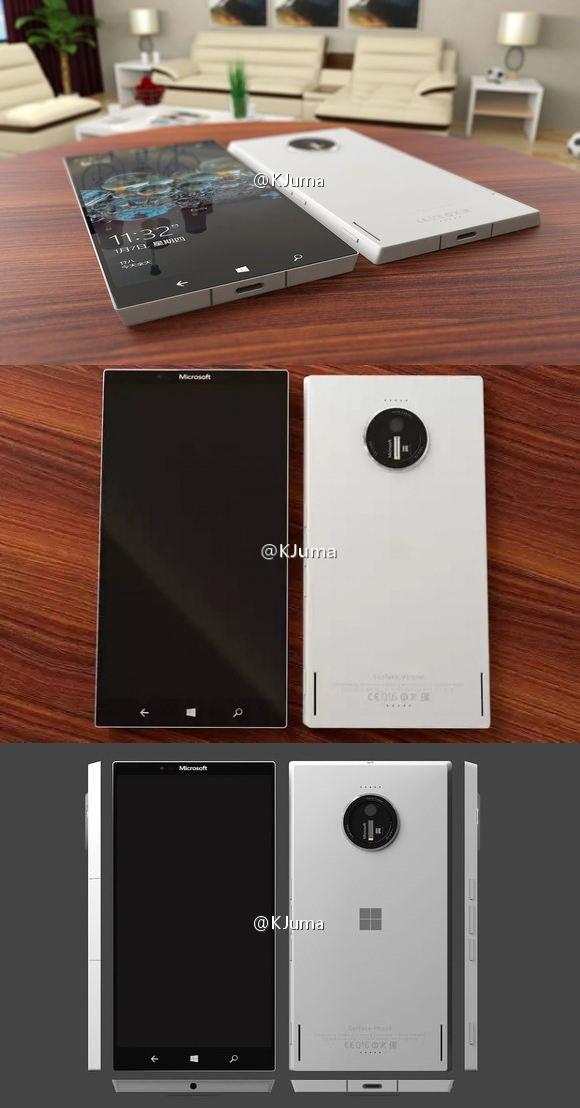 "SurfacePhone概念图曝光 还是Lumia味道"""