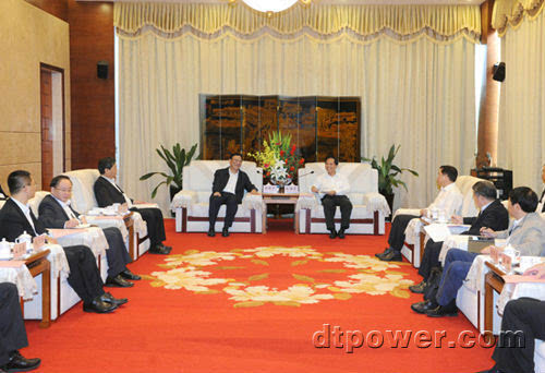 """大唐国际与海南省人民政府签署战略合作框架协议"""""""