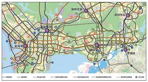2030年将建成32条地铁!
