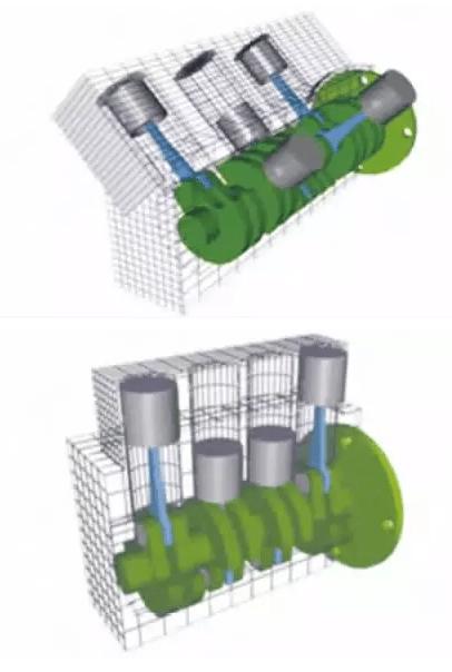 燃气内燃机主要结构与液体燃料内燃机( 柴油机,汽油机等) 基本相同