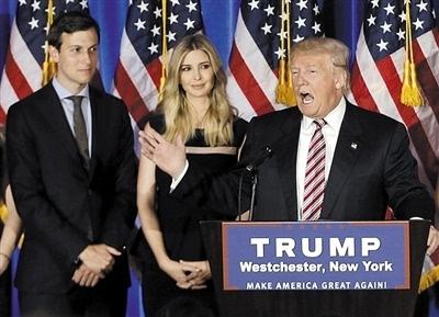 特朗普宣布任命女婿为总统高级顾问举贤不避亲?-JPG - 400x289 - 55KB=>鼠标右键点击图片另存为