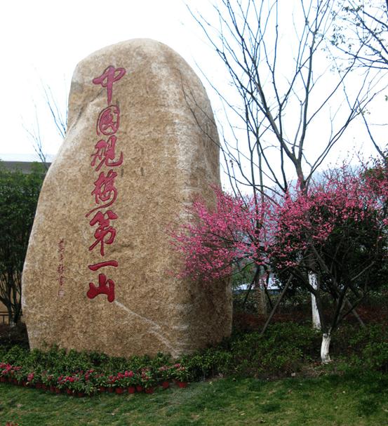十里梅花香雪海超山风景区