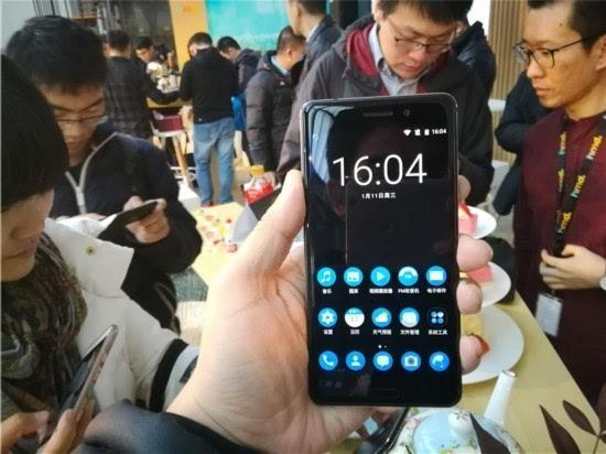 諾基亞回歸中國第一款安卓機諾基亞6現場圖賞