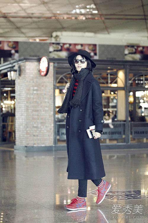华语女星最新机场街拍 大衣仍然是主打图片