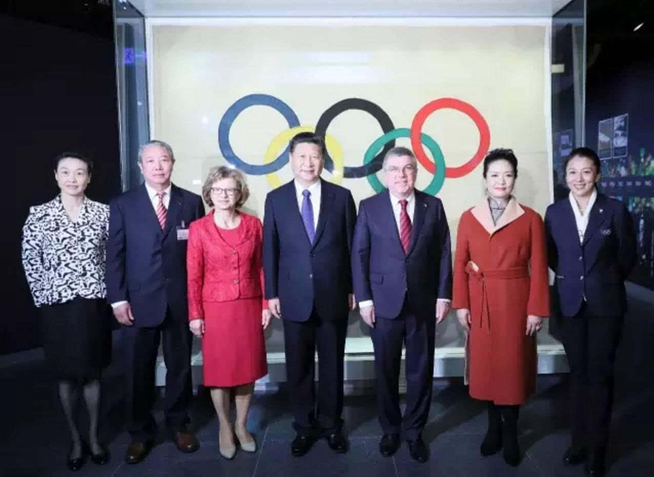 """跟着""""体育迷""""习近平逛奥林匹克博物馆"""