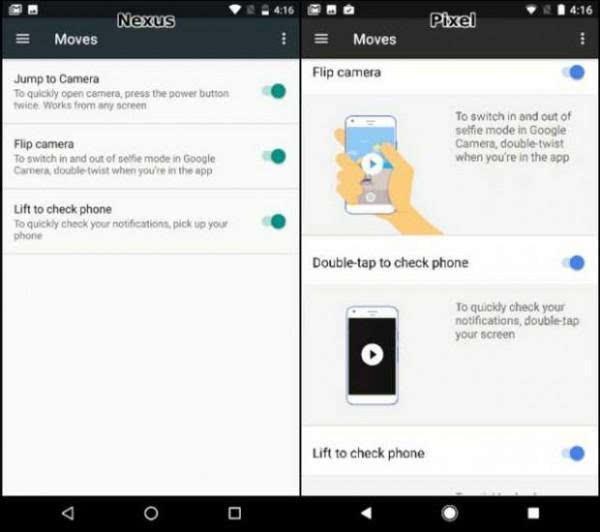 谷歌Pixel与Nexus 的UI比较:差异不大的照片 - 6