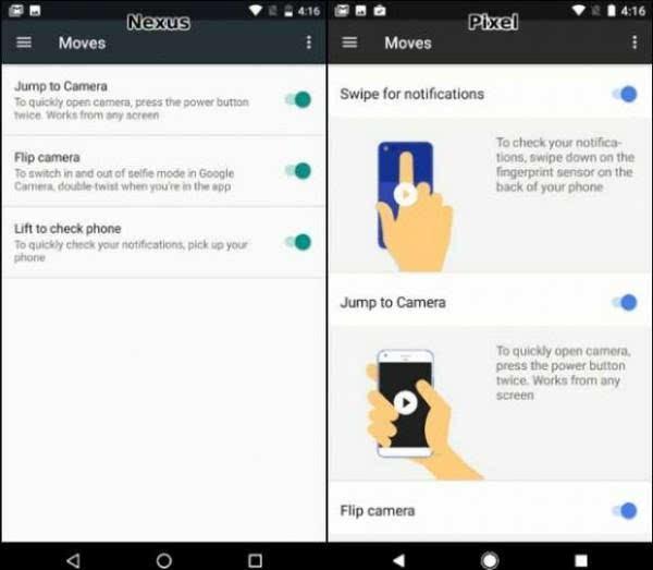 谷歌Pixel与Nexus 的UI比较:差异不大的照片 - 5