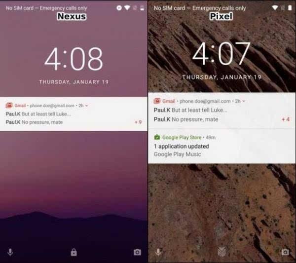 谷歌Pixel与Nexus 的UI比较:差异不大的照片 - 8