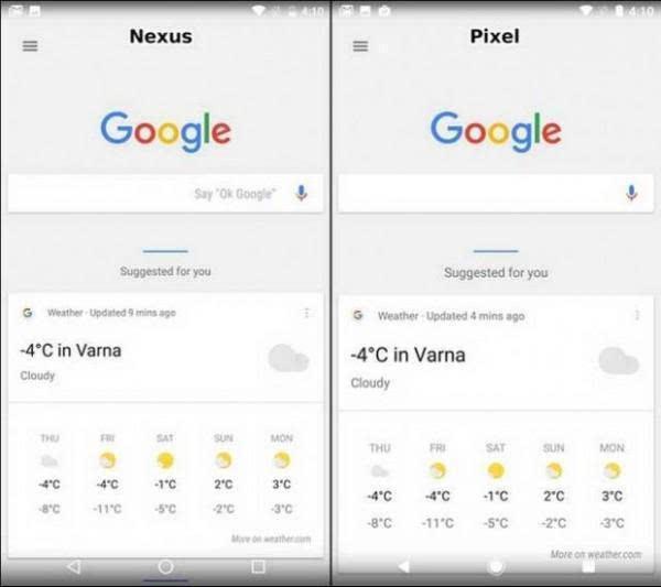 谷歌Pixel与Nexus 的UI比较:差异不大的照片 - 11