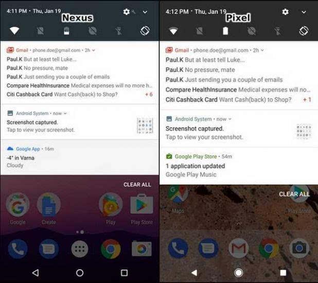 谷歌Pixel与Nexus 的UI比较:差异不大的照片 - 13