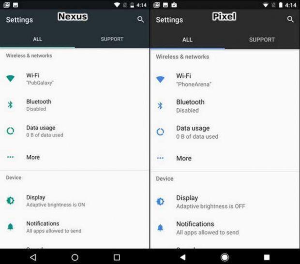 谷歌Pixel与Nexus 的UI比较:差异不大的照片 - 15