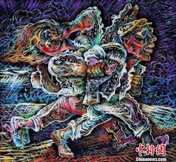 """中国美协副主席""""罗氏风格""""艺术展凸显""""文化对话""""自信"""