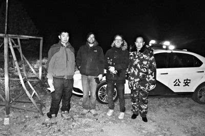 两位外国游客被困野长城怀柔消防经过艰难搜寻成功营救