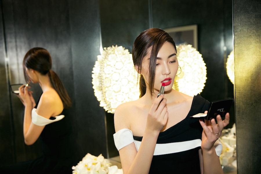 红唇最是诱人,模特陈碧舸,素颜女神王丽坤,女星张慧雯,时尚主持刘彦池