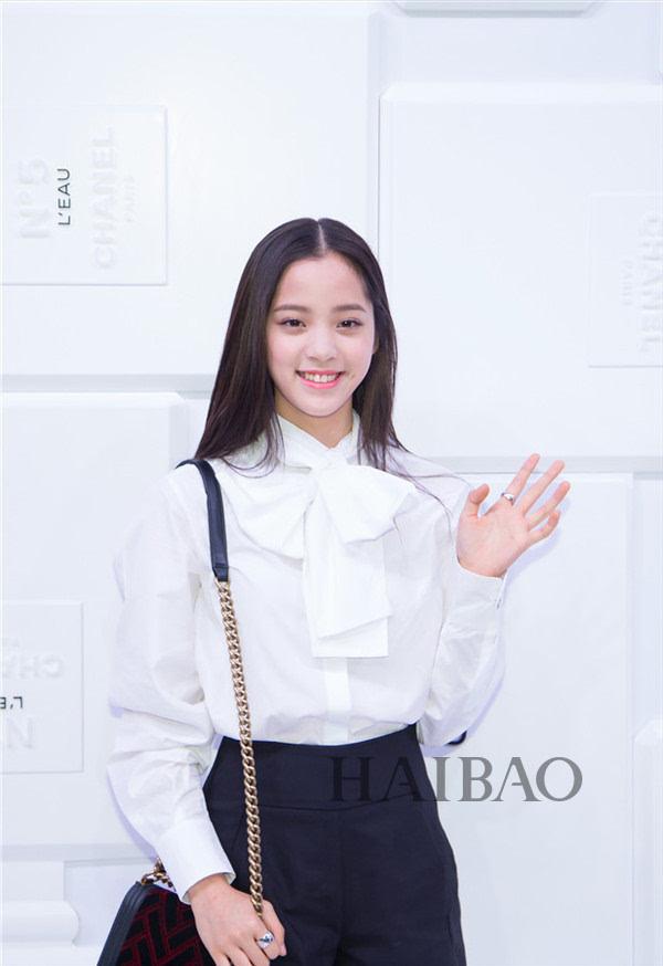 """空气刘海早已烂大街!2017流行欧阳娜娜的""""元气美少女""""图片"""