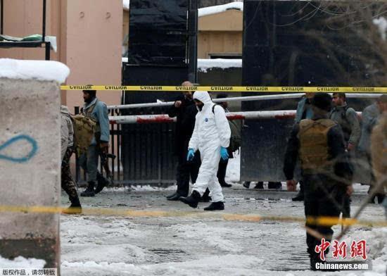 阿富汗最高法院遭遇自杀式炸弹袭击已致21人丧生