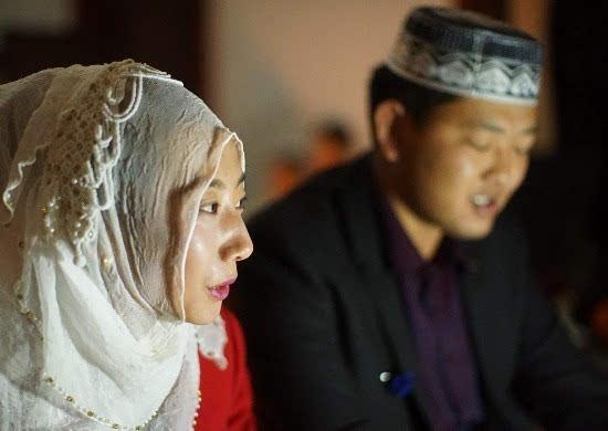 大理回族婚礼严肃得像一场考试
