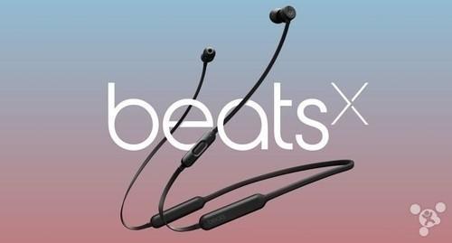 苹果BeatsX耳机今天上市: 还送3个月Apple Music试用