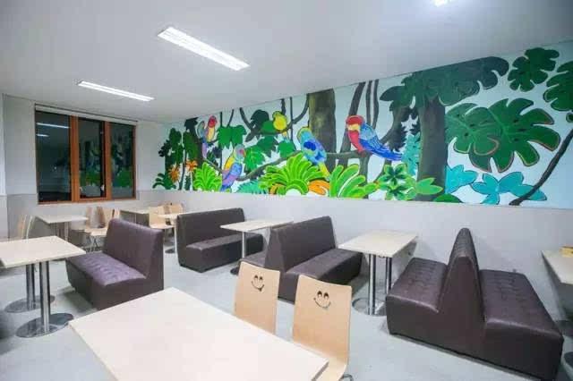 小学教室手绘墙绘