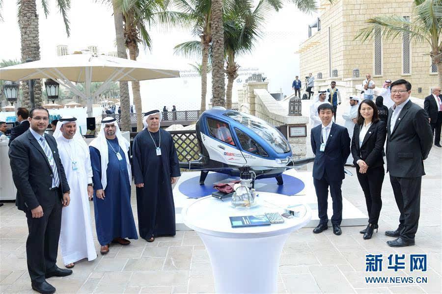 中国载客无人机7月将在迪拜投入运营