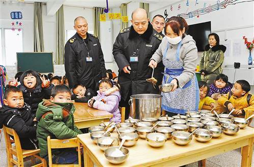 涪陵进行学校幼儿园食品安全专项检查