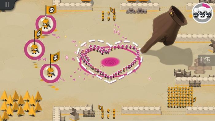 土 开发商的一笔画RTS手游 战争工厂 已引进国内,即将双平台上线