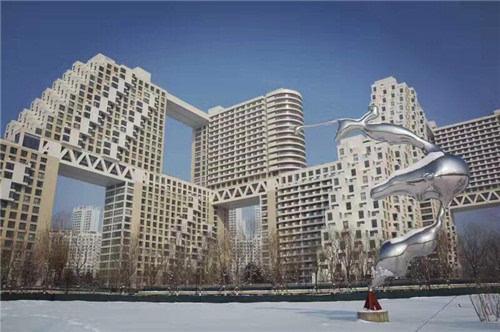 """秦皇岛海边那堆""""积木"""" 竟可以比肩世界名建筑"""