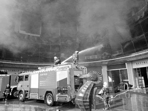 南昌一家星级酒店发生火灾 已造成10人死亡