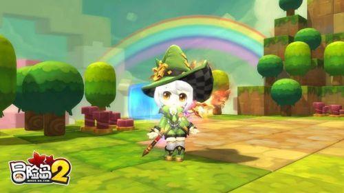 《冒险岛2》今日开启终极内测 diy玩法改版升级