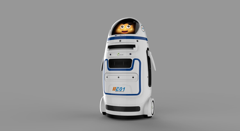 AI结缘媒体 小胖机器人进驻人