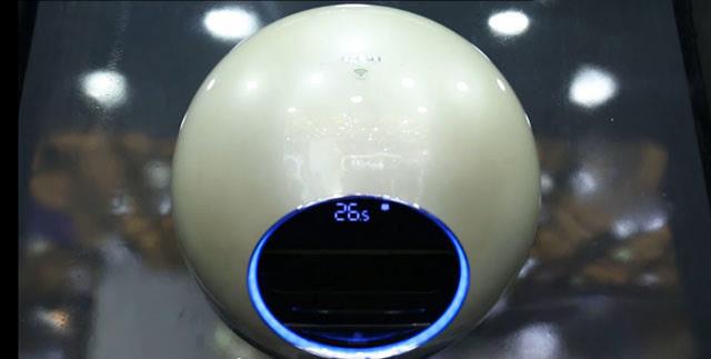 圆形空调你见过吗?美的智能王iq100体验