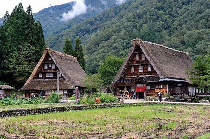 日本北陆旅游:富山县五个山的正确画风原来是