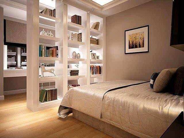 想要美观又实用?四个方法教你隔断卧室书房图片