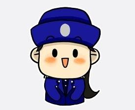 搜狐图片公众-小卡通表情走红让人看了爱女警包大笑搞表情平台怪图片图片