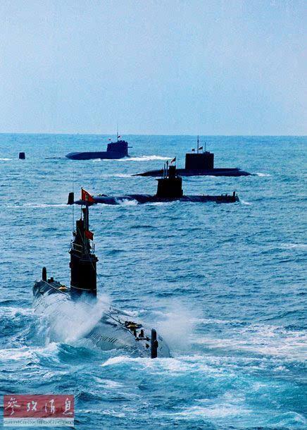 """俄媒称中国打造新一代静音潜艇:美军将""""睡不安稳"""""""