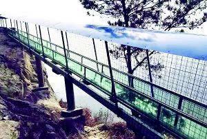 武汉一景区玻璃滑道突发意外致游客1死3伤事故原因正在调查