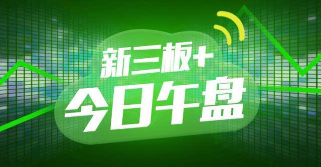 """""""新三板+""""午盘:半日成交4.68亿,做市指数或迎五连阴"""