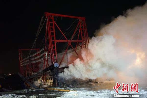 广西北海一渔船凌晨起火 南沙作业计划被搁置