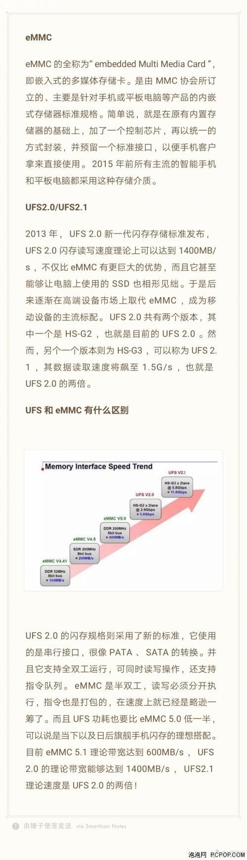 eMMC、UFS到底是啥?有何区别?