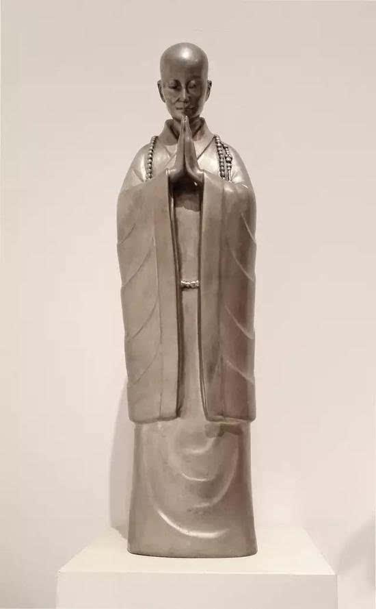 雕塑艺术风采汇 中国当代佛教艺术展