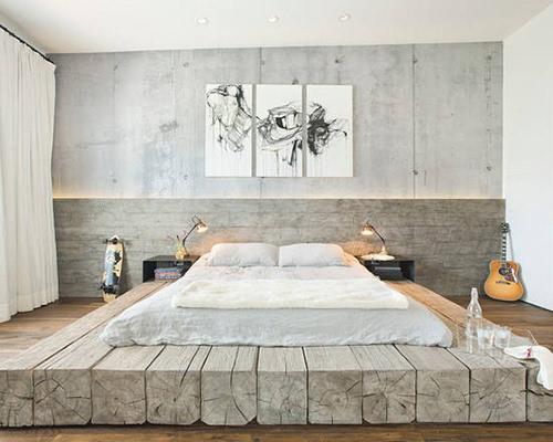 10个卧室床头背景设计小创意