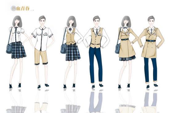 湖南最美校服设计大赛在即 最美校服抢先看图片