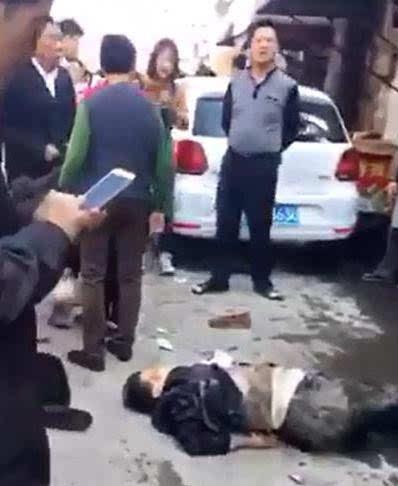 女子连撞7名老人具体事故原因还在调查中