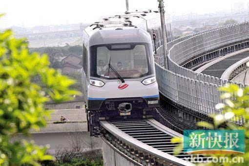 长沙磁浮列车运营一周年韩国等35国都来考察过