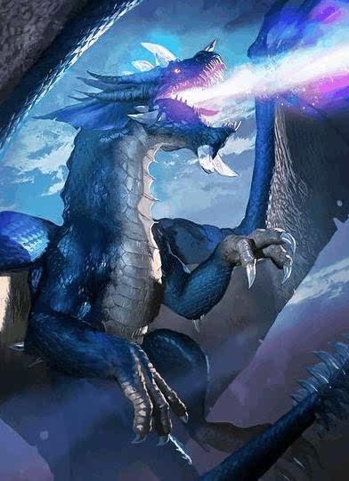 以下是玛里苟斯与卡雷苟斯在魔兽中的模型.