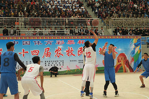 助体育爱好者实现金牌梦体彩支持全民上全运会